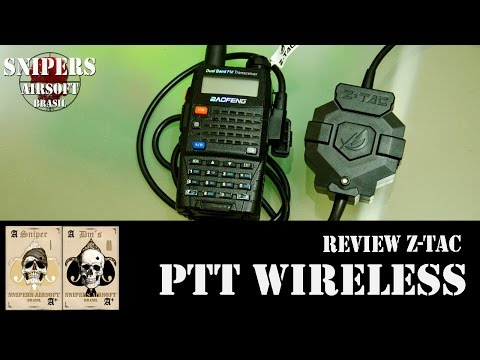 Review PTT WIRELESS Z-TAC (Z123) kenwood - Airsoft radio