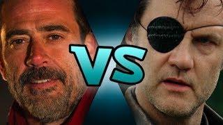 The Walking Dead - The Governor saves Alexandria (Governor vs Negan)
