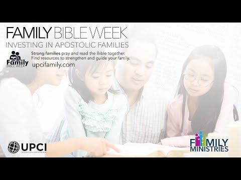 Family Bible Week