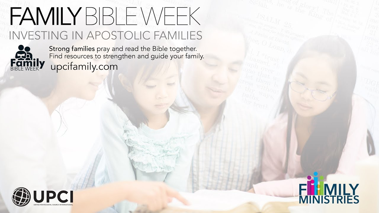Family Bible Week