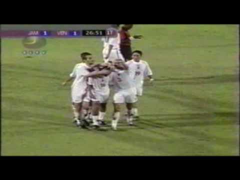 Gol de Arango ante Jamaica. Año 2004.