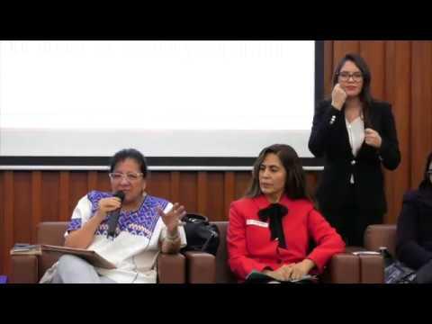 Discurso de Nashieli Ramírez Hernández en el Conversatorio Niñez y desaparición Forzada