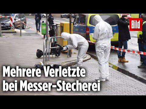 Messer-Attacke im Frankfurter Bahnhofsviertel