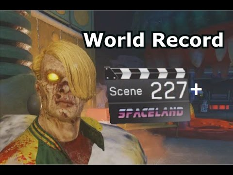 Round 227+ IW Zombies In Spaceland World Record PS4