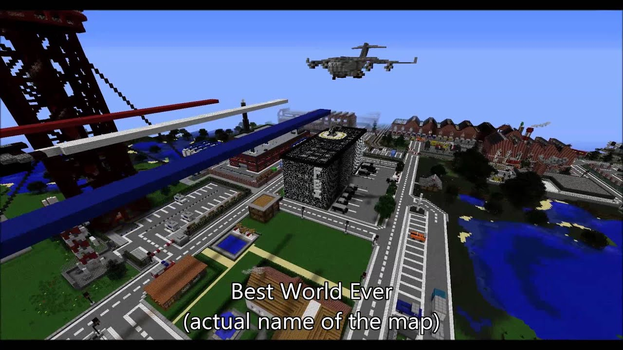 Amazing Minecraft Maps Download  And Below  YouTube - Nyc map minecraft