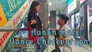 SIMMBA: Aankh Marey  Dance choreography Be Blessed crew | Ranveer Singh  Mika, Neha Kakkar
