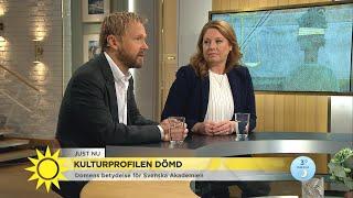 Kulturprofilen dömd – det betyder domen för Svenska Akademien - Nyhetsmorgon (TV4)