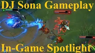 "DJ Full Gameplay Spotlight - DJ Sona ""Support"" Full Game"