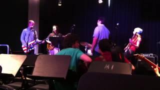 Playing bass on Kick Out The Jams with Wayne Kramer (MC5) @ Musician