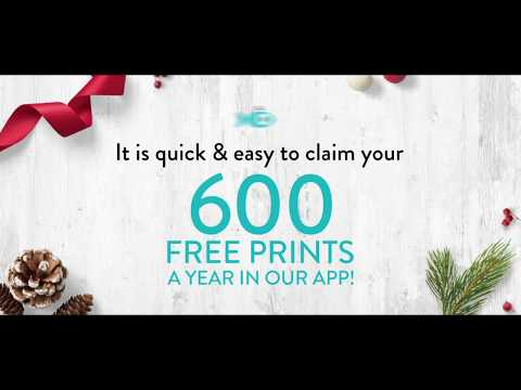 Get 600 Free Prints A  Year When You Download The Snapfish App.