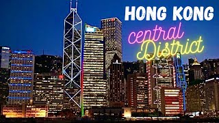 Central District Hong Kong Skyline at Night *HD* thumbnail