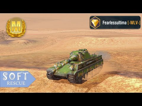 Panther II: 4000 Damage , 4 Frags - WOT BLITZ -