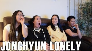 Gambar cover Jonghyun (종현) - Lonely ft. Taeyeon (Reaction Video)