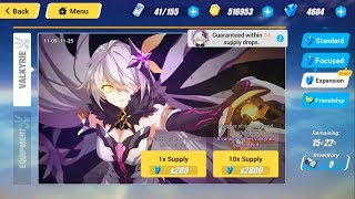 Unlucky Gacha for Event Herrscher of the Void - Honkai Impact 3 SEA