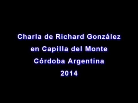 Charla de Richard Gonzalez en Capilla del Monte