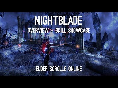 Nightblade Overview and Skills showcase - Elder Scrolls Online