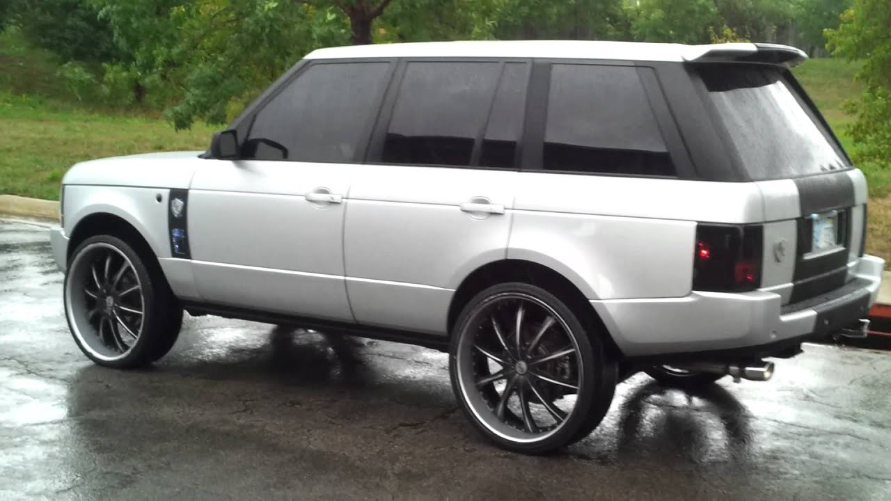 2003 Range Rover Lifted >> Range Rover On 26 Inch Lexanis Youtube