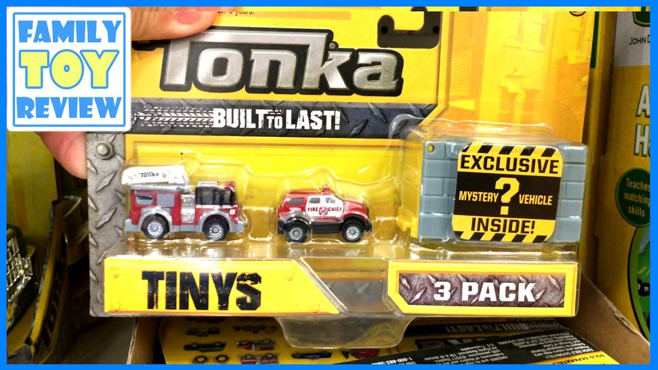 Tonka Tinys 3 Pack New Funrise Toys Exclusive Tonka Truck Surprise