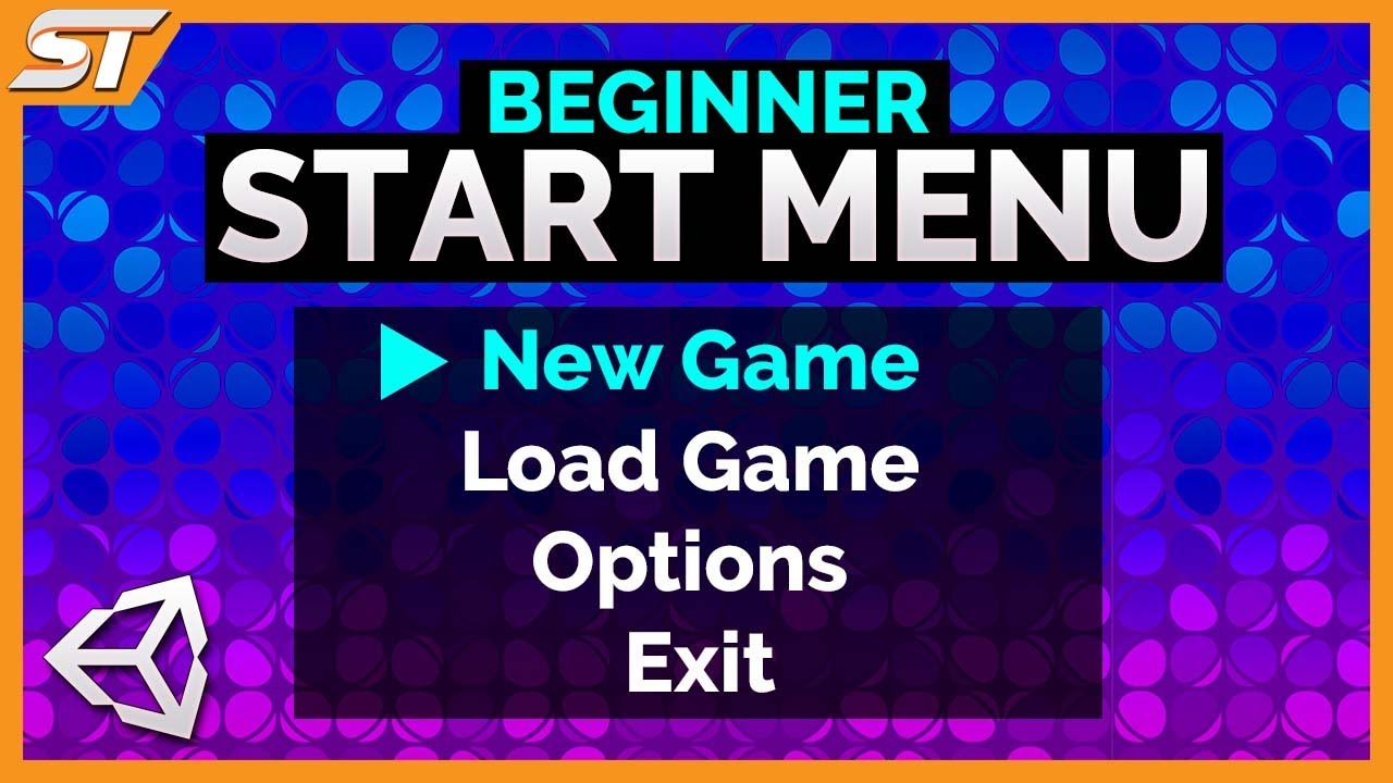 Creating a Start Menu / Main Menu in Unity 5