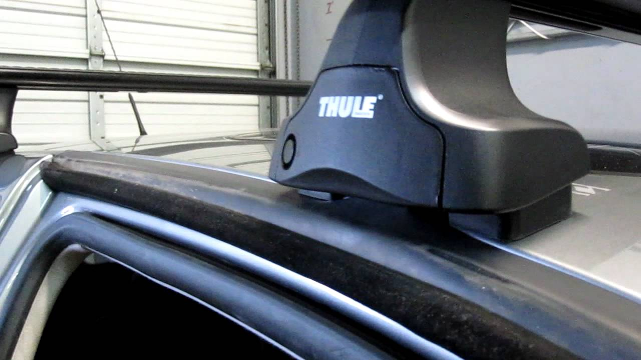 volkswagen gti 3dr type iv with thule rapid traverse aeroblade base roof rack by rack outfitters mov