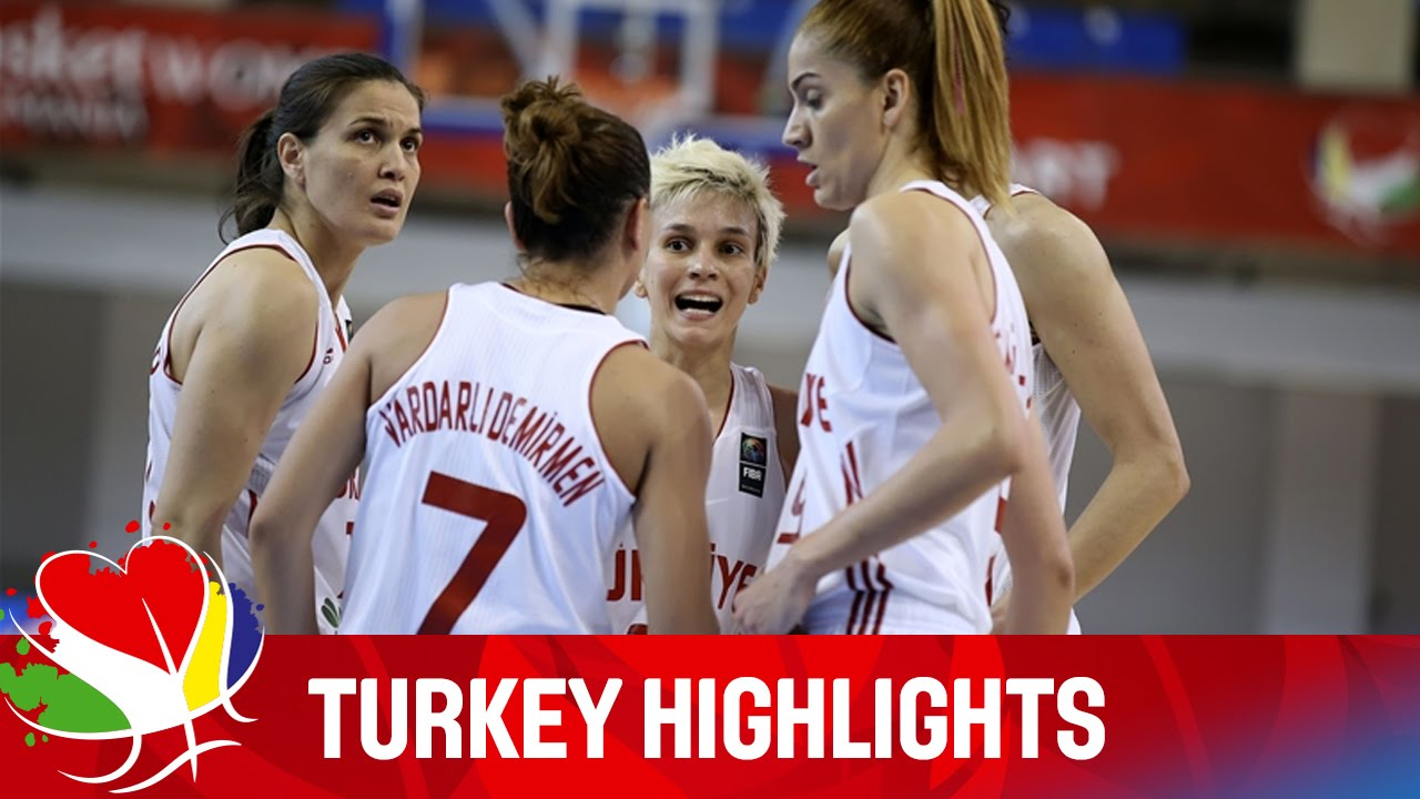 Turkey - Team Highlights - EuroBasket Women 2015