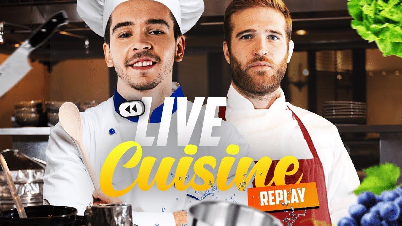 LIVE Cuisine - Un Chef m'apprend tout !