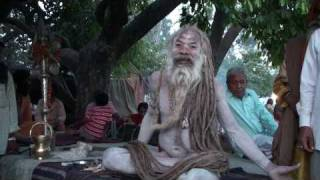 DHUNICAST Satsang Interview with Naga Baba Sri Shiv Raj Giri Ji at 2010 Hardwar Kumbh Mela Part 4