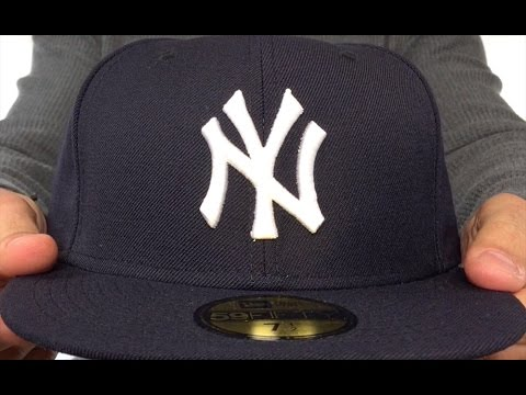 94c33945de8 New York Yankees 1999-2006  GAME  Hat by New Era - YouTube