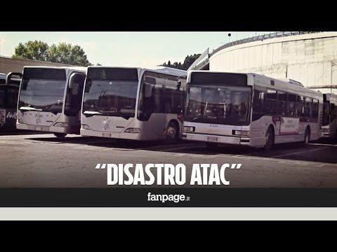 """Atac, bus guasti e decine di autisti in attesa nei depositi: """"Presto mancheranno anche le gomme"""""""
