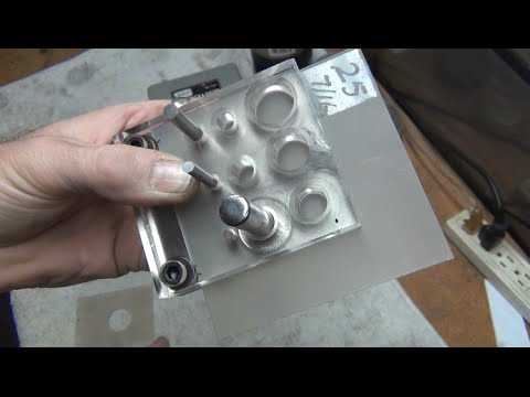 Cash Coin Punch Centering Tool -  No Skill Required, Harbor Freight Punch and Die
