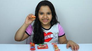 تجربة جيلي همبرغر!!   Burger jelly candy