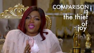 Funke Akindele Bello talks about quotCOMPARISONquot in life a quotstealerquot of joy