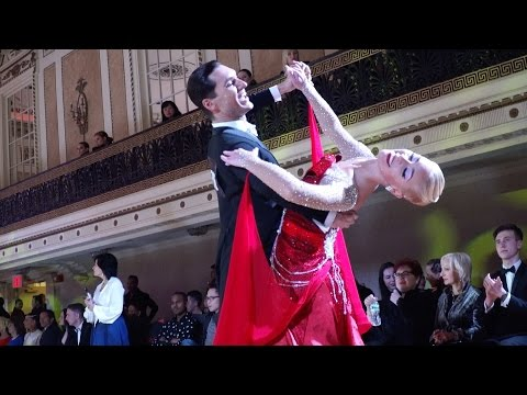 2017 NYDF Pro Ballroom Waltz Final