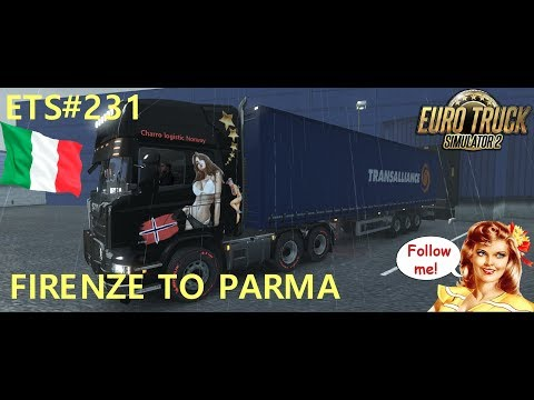 ETS#231 Transporting 18 Tons of Furniture from Firenze to Parma 214 KM
