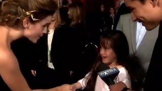 A Little Fan Asks Emma Watson