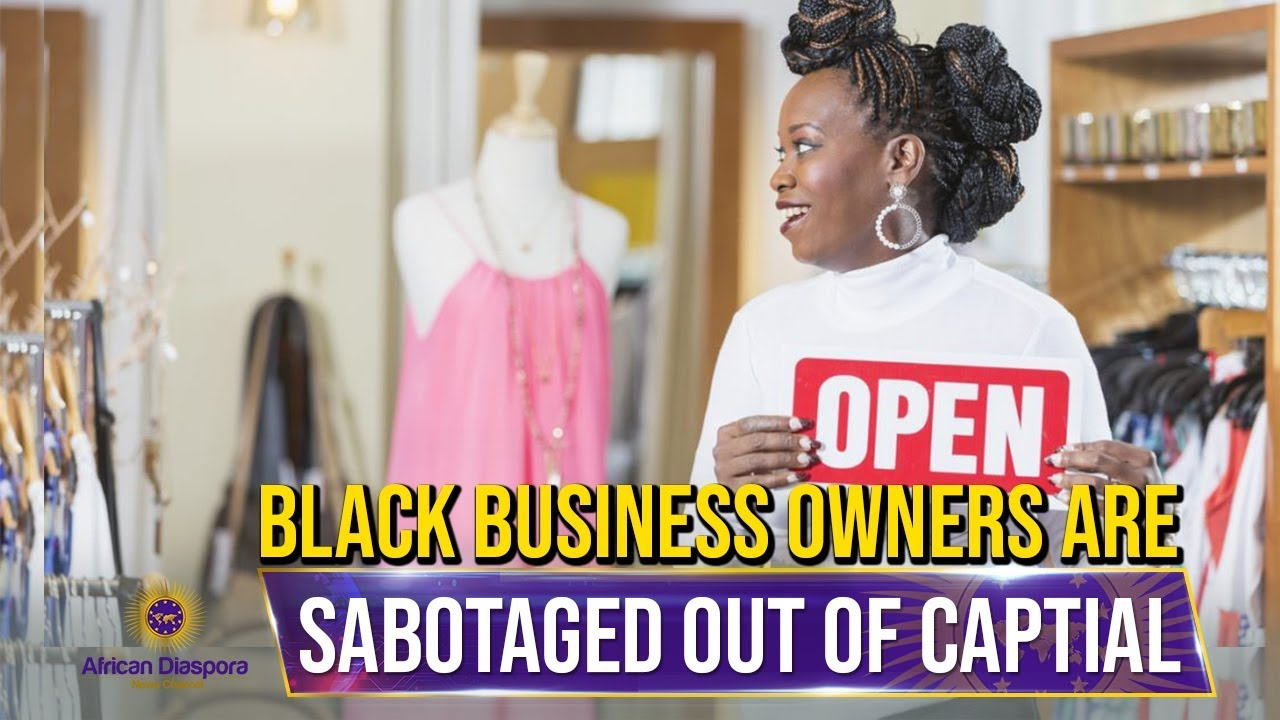 Black Business Owners Sabotaged By Being Denied Loans At Twice The Rate As White Business Owners