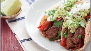 Super Easy and Delicious Blue Apron  Top Round Steak Fajitas Recipe