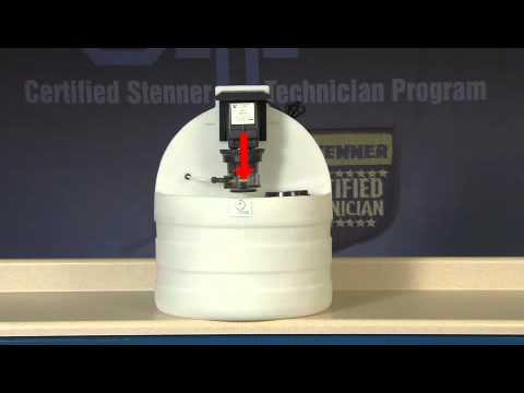 Peristaltic Metering Pump Installation Stenner Classic Series
