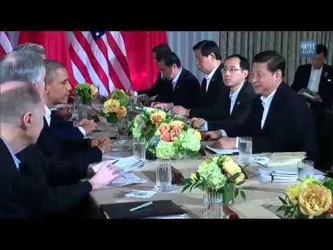 Obama and President Xi Jinping of China Make a Statement