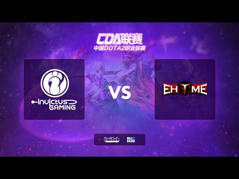 IG vs EHOME, Chinese DOTA2 Professional Association, bo3, game 2 [Mortalles & Inmate]
