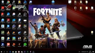 TUTO: FORTNITE GAME WITHOUT PASSER BY THE LINE OF WARNING