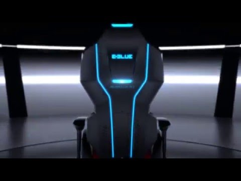 E Blue Auroza X1 Gaming Chair Youtube