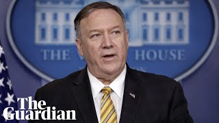 Mike Pompeo reacts to John Bolton's firing: 'I'm never surprised'