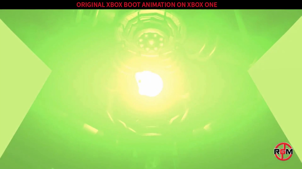 Original Xbox Boot animation on Xbox One