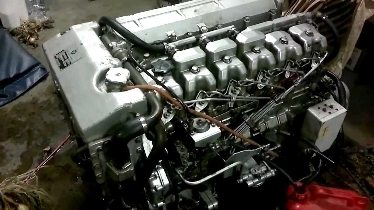 Bmw D190 Marine Engine Youtube