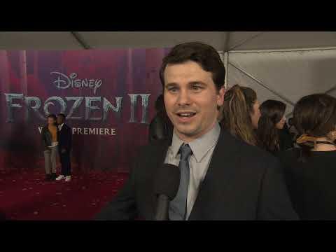 Frozen 2 Jason Ritter Ryder Movie Premiere Interview Youtube