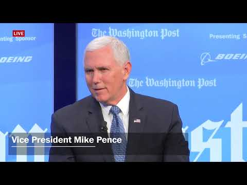 Vice President Mike Pence's full interview with The Washington Post