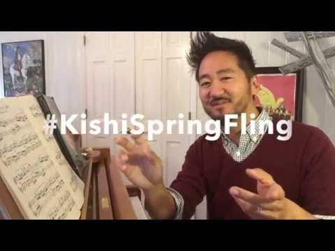 #KishiSpringFling. I will come to your school!