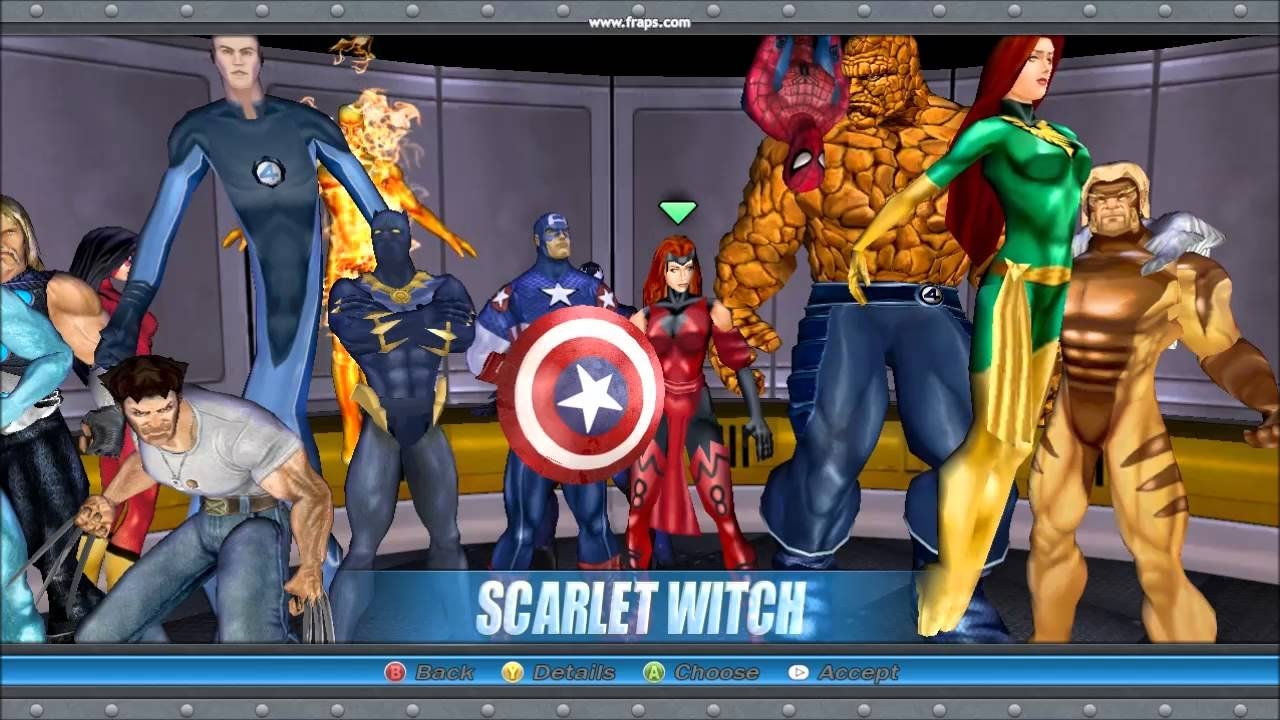 Моды для Marvel Ultimate Alliance