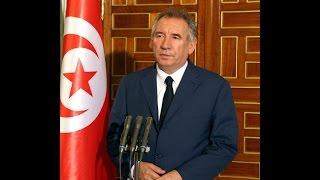 رئيس الجمهورية يستقبل الوزير السابق الفرنسي ورئيس بلدية مدينة بو فرانسوا بايرو